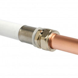 GMHPF71 Copper to Barrier Compression Adaptor